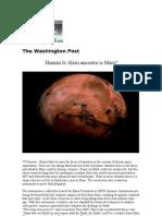 Is Human Alien Ancestor is Mars