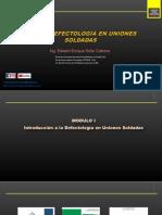 SESION 1 - - DEFECTOLOGIA UNIONES SOLDADAS