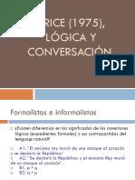 Grice-LOGICA Y CONVERSACION