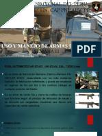 Semana 11 Uso y Empleo de Armas Ppt