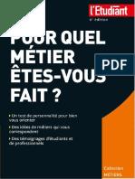 Virginie Bertereau, Elodie Raitiere-Pour Quel Métier Êtes-Vous Fait _-L'Etudiant (2015)