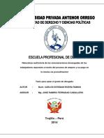 2014_RESTITUTORIA_REMUNERACIONES_DEVENGADAS EN PROCESO AMPARO Y PAGO EN LA MISMA VIA PROCESAL