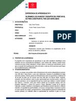 Experiencia de Aprendizaje 4-DPCC 1º y 2° Sec