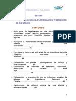 I SESIÓN ASPECTOS LEGALES PLANIFICACIÓN E INFORMES I PARTE
