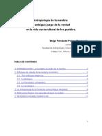 Antropologia de La Mentira - Diego Porras