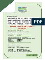 1.5.2.- Informe Tecnico de Demolicion Cruzpampa
