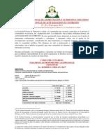 X CONGRESO NACIONAL DE ALIMENTACIÓN Y NUTRICIÓN Y VIII CURSO INTERNACIONAL DE ACTUALIZACIÓN EN NUTRICIÓN