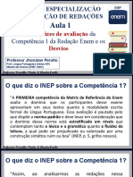 Competência 1 - Aula 01 - Regras Gerais e Desvios