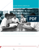 Programa Curricular Educacion Secundaria