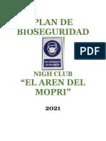Plan de Bioseguridad para burdel nigh club