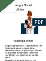 Psicología Social en clinica