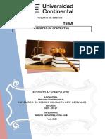 PRODUCTO ACADEMICO 2 DERECHO CONSTITUCIONAL PARA ENVIO