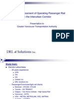 DRL Solutions Interurban Report