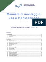 Manuale Montaggio, Uso e Manutanzione - SCAFFALATURE INCASTRO L12-L15 procedura rilevazione danno