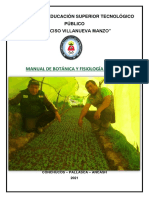 Manual de Botanica y Fisiologia Vegetal
