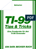 TI-99 Tips & Tricks Exact