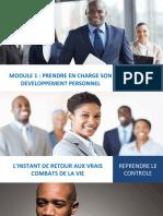 Module 1 Prendre en Charge Son Developpement Personnel