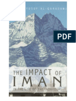 The Impact of Iman in the Life of the Individual