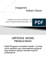 Model Pengajaran                     Robert Glaser