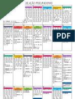 Calendário - Legislação Procuradorias