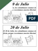 20 de Julio