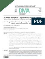 Do modelo agroquímico à agroecologia_ a busca por sistemas alimentares saudáveis e resilientes em tempos de COVID-19