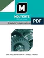 Molykote-Broschüre