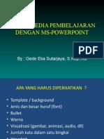 Design Presentasi