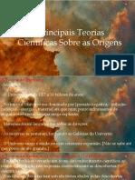 EBB Gênesis - As Teorias Científicas