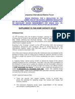Supplement to OCIMF