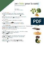 a1a2-aliments-bons-pour-la-sante-curcuma-brocoli-comprehension-ecrite-texte-questions-feuille-dexer_121661
