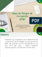 EPM Mapa de Riesgos de Corrupción dic-2016