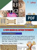 Ppt - Texto Hebrero Del at - Erodita Valles