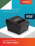 IMPRESORA_TP 300 PRO_BROCHURE_ES