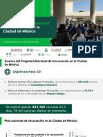 Iztacalco e Iztapalapa, próximas alcaldías de la CdMx para vacunación a sector 30-39 años