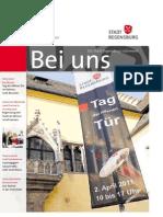 Bei uns - Die Stadt Regensburg informiert