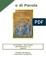 Sete Di Parola - XIII Settimana T.O. - B