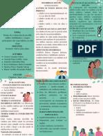Pautas de evaluación desarrollo adulto, habilidades y rasgos principales del especialista en esta etapa - Triptico