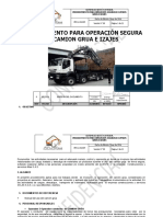 PRO-LOG-009 PROCEDIMIENTO CAMION GRUA