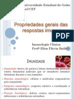 1_Propriedades gerais das respostas imunes