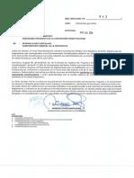 Segpres oficia a la Convención por Asignaciones Asesores