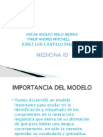 Competencias Comunicativas Modelo de Heyms