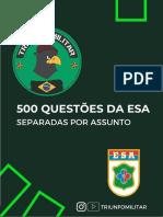TRIUNFO ESA 500 QUESTÕES