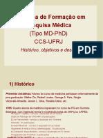Programa de Formacao em Pesquisa Medica UFRJ