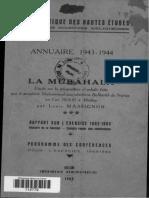 (1) Louis Massignon - La Mubâhala (1943)
