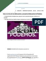 Podemos_ Esta es la lista de los delincuentes y presuntos delincuentes del partido de Pablo Iglesias (1)