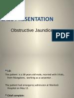 case  of obstructive  jaundice