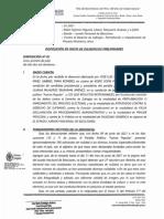 Disposición Fiscalía - Fuerza Popular