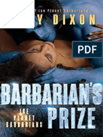Barbarian's Prize (05-Ice Planet Barbarians )- Ruby Dixon