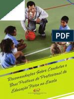 Manual -Recomendações - Profissional - Educacao Física Escolar